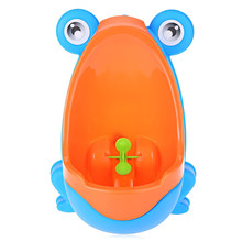 Brand New Baby Urinal Separable Suspensible Lovely Frog Shape Boys Standing Urinal Kids Boy Potty Toilet Training Learning Toys