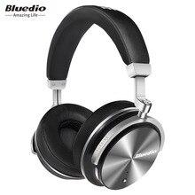 Bluedio T4S Active Noise Cancelling Sem Fio Bluetooth Fones De Ouvido sem fio Fone de Ouvido com microfone para iphone samsung