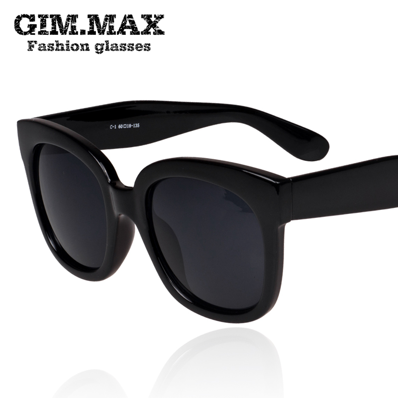 454992ab0aa6 GIMMAX large square frame sunglasses black super elegant oval face new  sunglasses personalized sunglasses Korea-in Movie & TV costumes from  Novelty ...