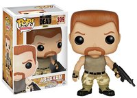 Exclusive FUNKO POP Official TV: The Walking Dead ABRAHAM #309 Vinyl Action Figure Collectible Model Toy with Original Box