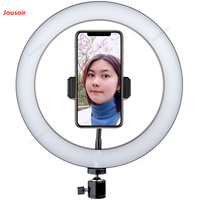 26CM Live Lighting female anchor beauty small photography equipment bracket ring Light CD50 T07