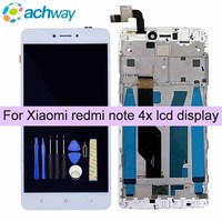 For Xiaomi Redmi Note 4X LCD Display Screen Touch Screen Digitizer Assembly With Frame Redmi Note
