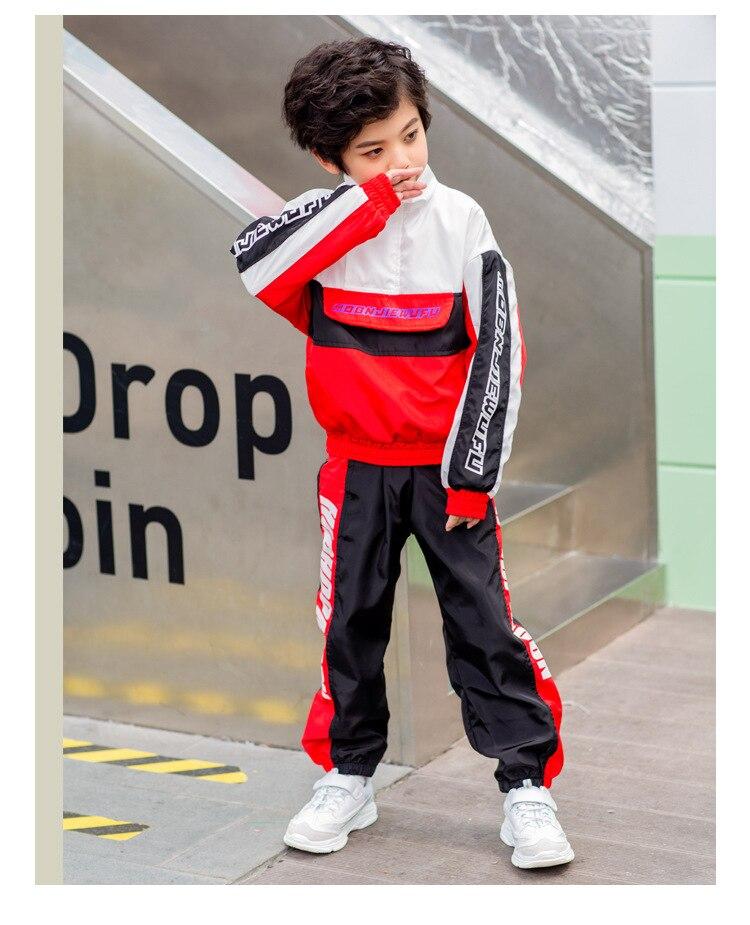 Coreana do conjunto de meninos do hip hop traje