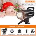 Nuevo listado Godox SL60W blanco versión 5600 K estudio continuo, luz de vídeo LED lámpara Bowen montaje + Control remoto