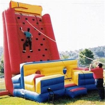 Nowy projekt bezpieczeństwa dmuchane ścianka wspinaczkowa z niskim kosztem tanie i dobre opinie XZ-CW-028 Dziecko New design safety inflatable climbing wall with low cost 0 5mmPVC L5*W4 3*H7 3m 110-220v Large Outdoor Inflatable Recreation