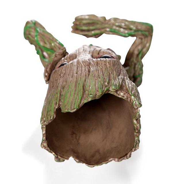Drop shipping Flowerpot Baby Action Figures Cute Model Kawaii Twig Guardians Vessel Antistress Tree Men Resin Pot Skull Flower