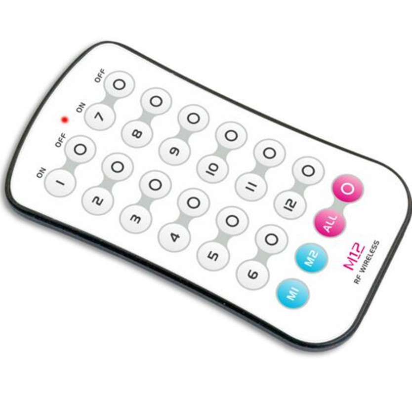 WiFi 104 LEVOU wi fi RGB mestre QUE controlador com M12 LED controle remoto 2.4 GHz Wi Fi suporta max 12 zonas, WIFI Controlador de LED - 2