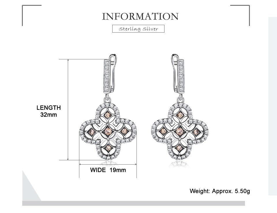 Honyy  925 sterling silver earring for women EUJ089Z-1-pc (2)