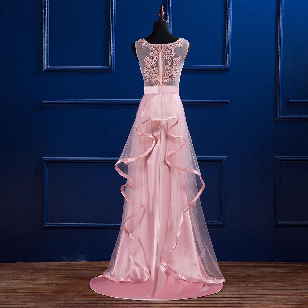 Baile vestidos largos 2018 mujeres elegante piso de longitud Formal ...