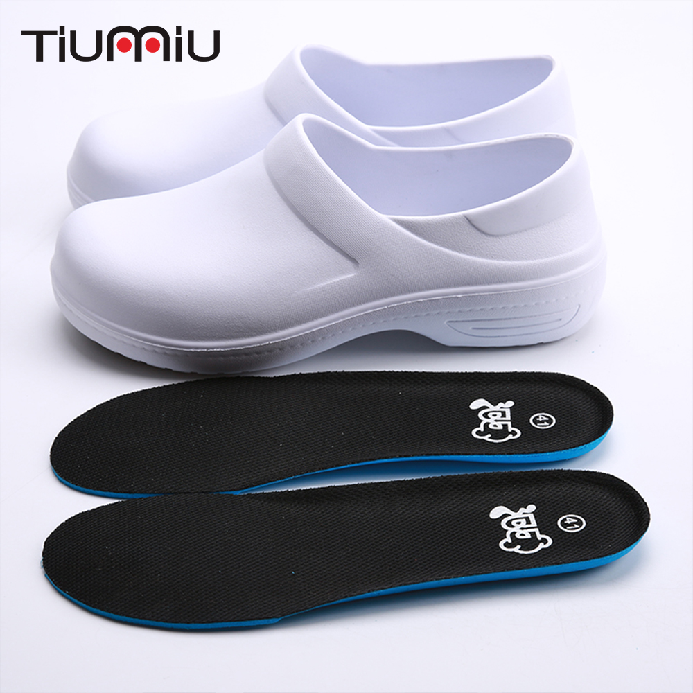 2019 New Chef Shoes Slip Wear-resistant Kitchen Shoes Restaurant Canteen Cafe Bakery Chef Waiter Wearable Cleaning Work Shoes