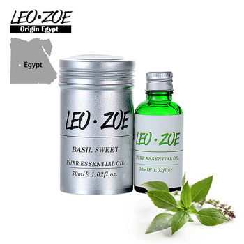 Basil Sweet Essential Oil Famous Brand LEOZOE Certificate Of Origin Egypt Authentication Aromatherapy Basil Sweet Oil 10ML недорого