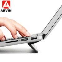 Soporte de refrigeración para portátil Arvin para Macbook Air Pro  Retina 13  15  portátil  ajustable  ordenador de oficina  PC  soporte elevador para Notebook