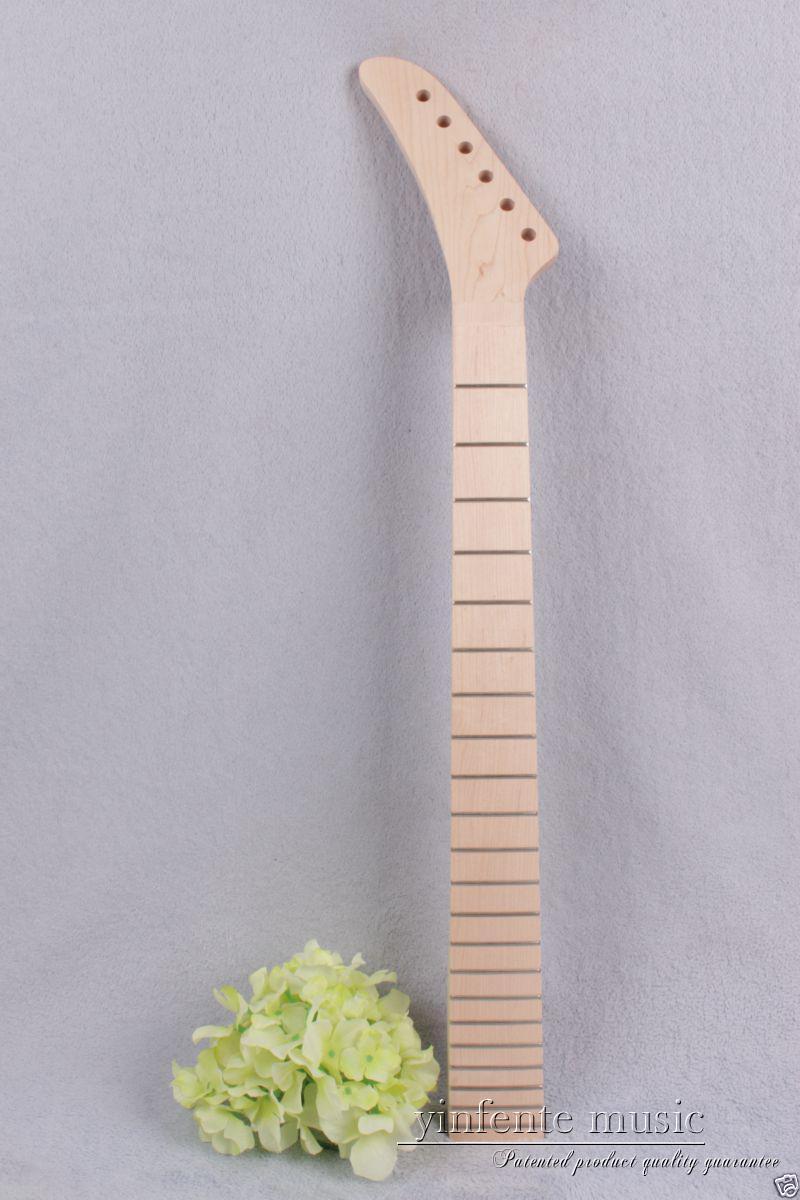 Manche de la guitare électrique 22 frettes 25.5 '' manche érable manche nouvelle remplacement # 900