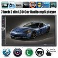 NOVO 7 ''polegadas LCD Touch screen mp5 player de rádio do carro DO BLUETOOTH mp4 áudio mp3 1080 P Suporte filme câmera de visão traseira 2 din áudio do carro