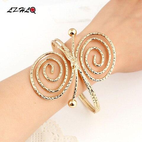 Lzhlq 2020 новые модные ювелирные изделия браслет модный длинный