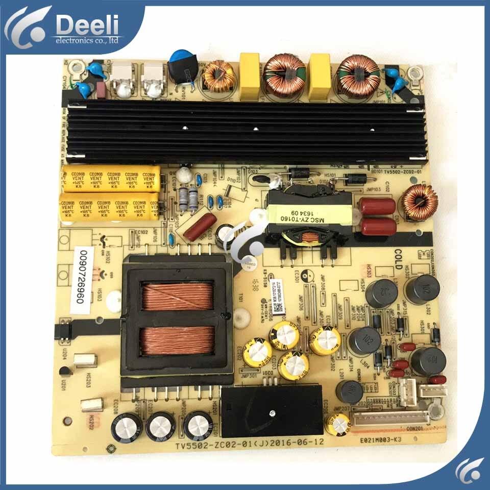 전원 공급 장치 보드 LS55H510N 0094001728 TV5502-ZC02-01 보드