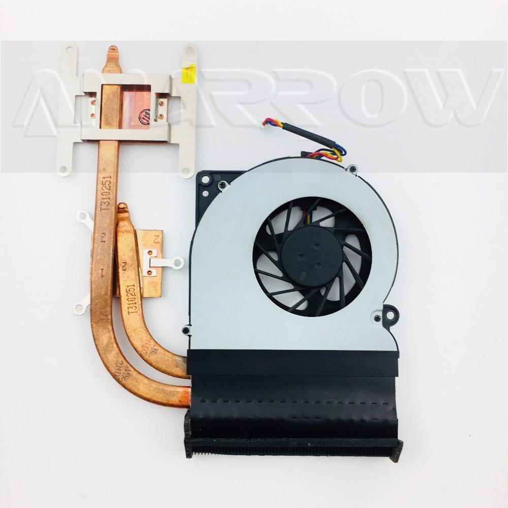 Original Laptop Heatsink Cooling Fan Cpu Cooler For Asus N61 N61J N61JV N61VG CPU Heatsink Fan 13N0-HDA0101
