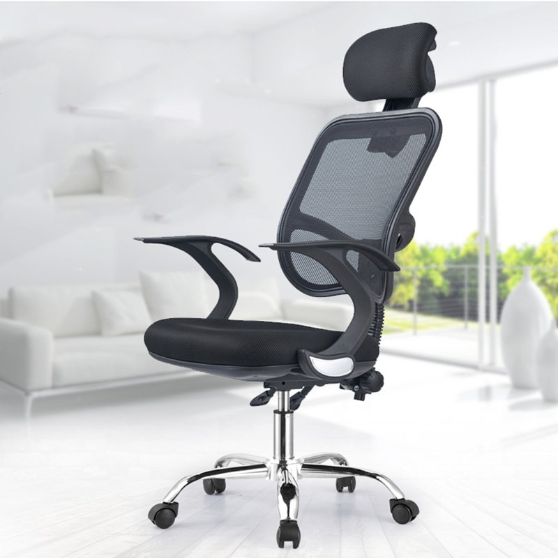 High Quality Computer Chair Modern Minimalist Human Body Office Chair Home Seat Reclining Boss Swivel Chair Game Net Material