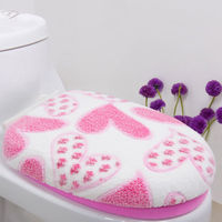 Super Soft Coral Velvet Does Not Hurt The Skin Thicken The Toilet Two Piece Sitting Toilet