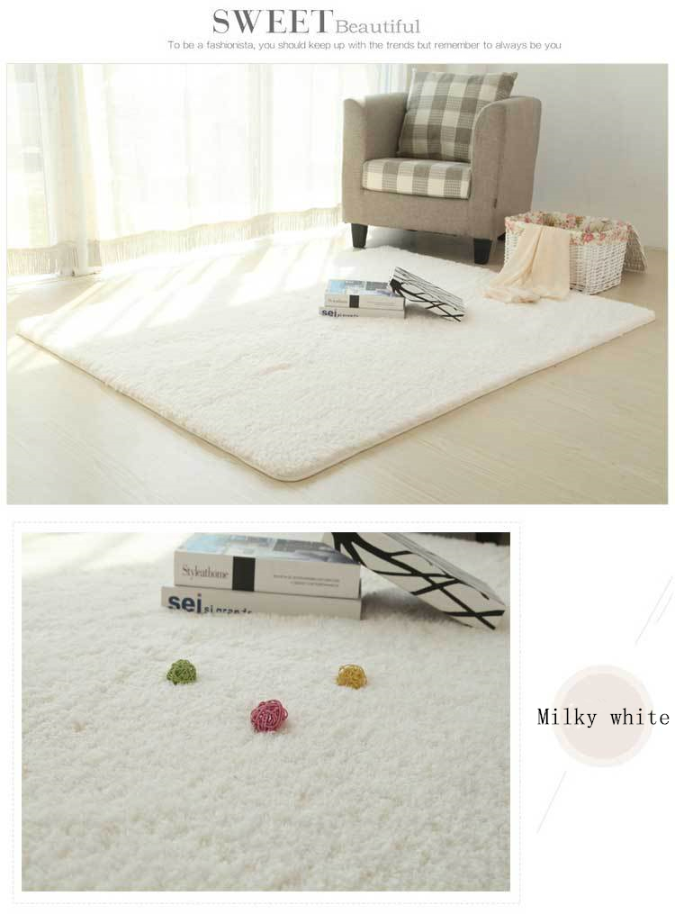 RECOLOUR New Style Living Room/bedroom Rug Antiskid Soft 150cm * 200 Cm Carpet Modern Carpet Mat Purpule White Pink Gray