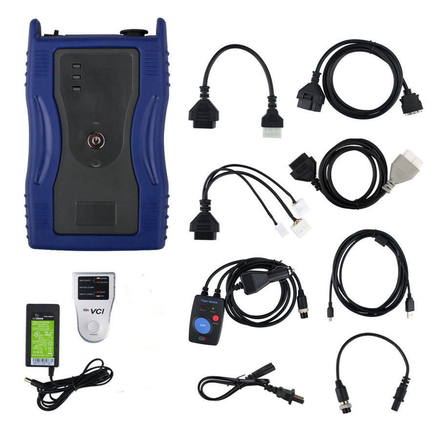 Image 5 - GDS VCI Firmware V2.14 Diagnostic Tool European Version for K ia H yunda i Flight Record Function with Trigger Module