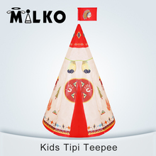 Tente enfant teepees tipi playhouse tents indian indoor pattern tent game