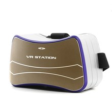 New VR All In One VR BOX for Google Cardboard Video Player Headset Virtual Reality 3D Glasses Support Wifi Bluetooth USB TF Card