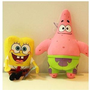 Image 4 - 1pc Cute SpongeBob plush toys SpongeBob/Patrick Star/Squidward Tentacles/Eugene/Sheldon/Gary stuffed doll Toys for Kids Girls