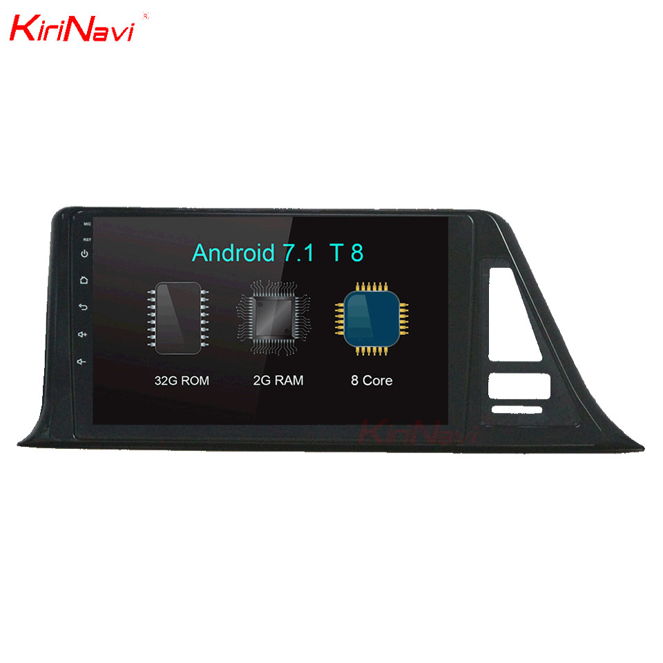 KiriNavi 10.2 Octa Core Android 7.1 Car DVD GPS For Toyota CHR Multimedia Radio Stereo A ...