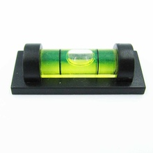 HACCURY Spirit level bubble with magnetic for TV Rack Photo Frame Goods Shelf Frame accessories