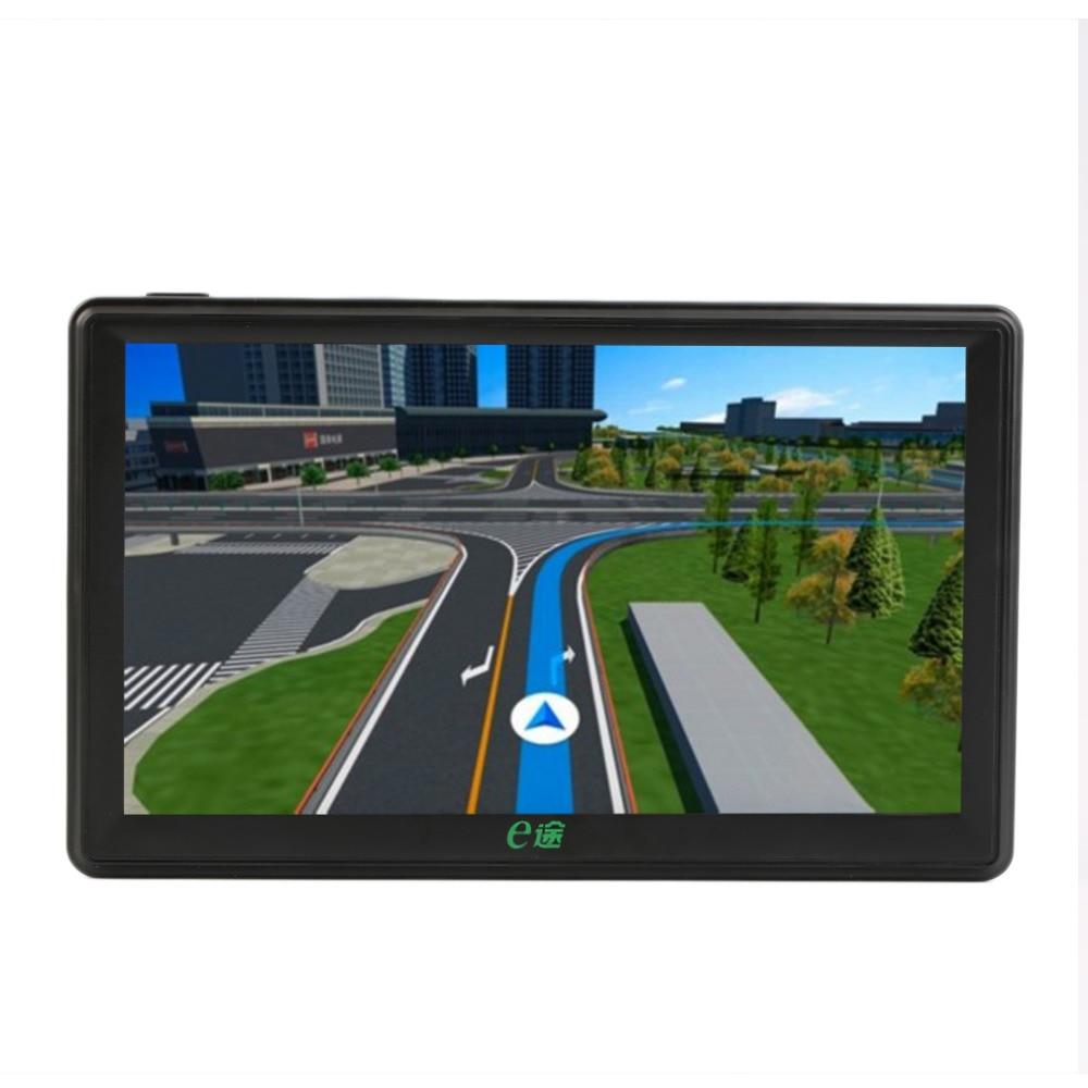 New 7 Inch Car GPS SAT NAV Navigation Car DVR FM MP4 Video Audio Player HD Screen+ Free Map 5 touch screen auto car navigation gps navigator fm av in sat nav video audio mp3 player fm transmitter car gps navigator