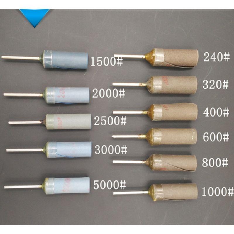 2,35 mm-es szárú homokléc porcelán jade borostyán tükrös fényes fényes finomságú csiszolópapír tekercstükör felcsiszoló csiszolókorong-eszköz