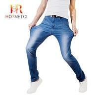 Jeans Men 2019 New arrival Skinny Stretch Denim Men's trousers Thin Breathable casual Comfort Slim Long Pencil Pants