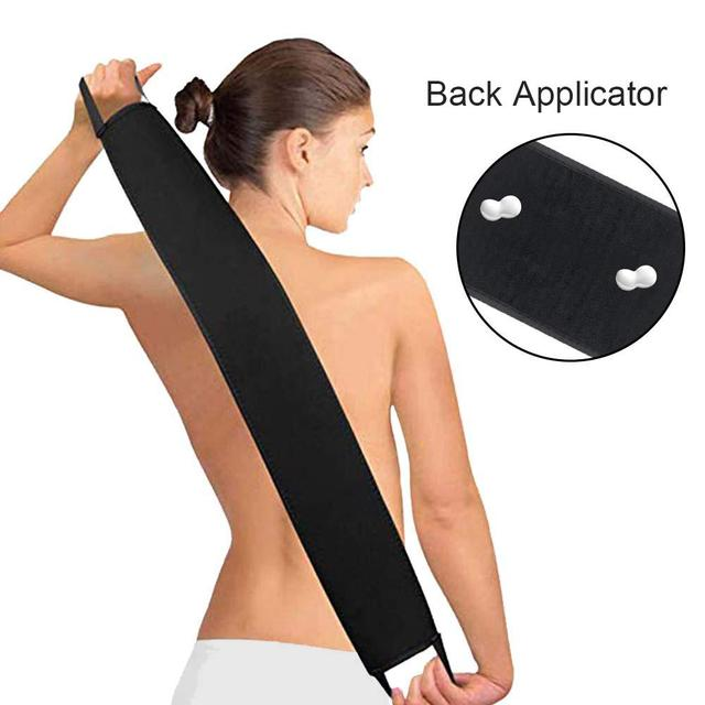 Self Tanning Mitts Back Applicator Matt Perfect for tanning lotions, Creams & Mousses-holds Just Enough Product to Apply Evenly 1
