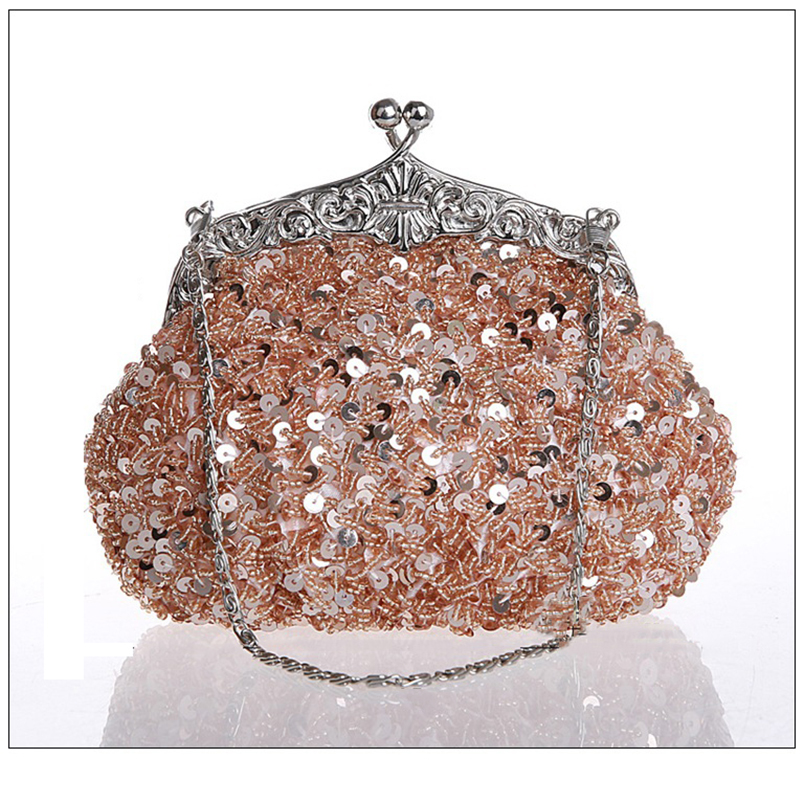 2017 New Fashion Vintage Beaded Evening Bag Embroidered Bag Handbag Diamond Sequined Clutch Hand Bag Bride Bag Free Shipping свитера puma свитер вратарский puma statement gk 701917471