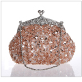 2017 New Fashion Vintage Beaded Evening Bag Embroidered Bag Handbag Diamond Sequined Clutch Hand Bag Bride Bag Free Shipping