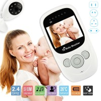 2.4 inch 2 Way Wireless Video Audio Color Baby Monitor Home Nanny Security Camera Night Vision Temperature Monitoring