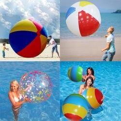 85 см/90 см/107/130 см гигант красочные воды, воздушные шары, надувные волейбол пляжный мяч для детей и взрослых бассейн игрушка открытый Семья