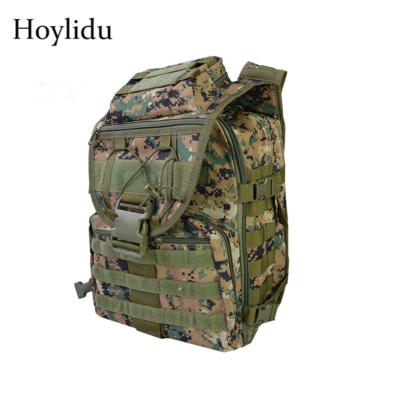 Camouflage Men's Shoulder Bags Casual Waterproof Military Bag Multi-function Large Capacity Travel Bag Unisex Laptop Backpack 2018 casual military army camouflage backpack unisex waterproof nylon laptop backpack for men male multi function school bagpack