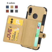 Luxury Leather Wallet Hawei P30pro Protect Back Cover Case For