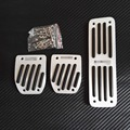 Accessories For Mercedes Benz W124 W140 W202 W203 W208 W210 W220 W211 MT Manual Accelerator Clutch Pedal Pedale Stickers