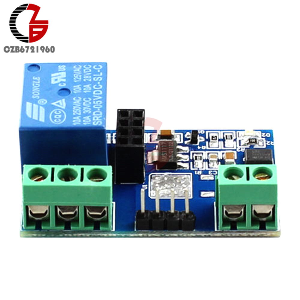 DC 5V One 1 Channel WiFi Wireless Relay Module Remote Switch Based ESP8266 ESP-01 For Phone APP Smart Home 5 upgraded version esp 01 esp8266 serial wifi wireless module wireless transceiver esp01
