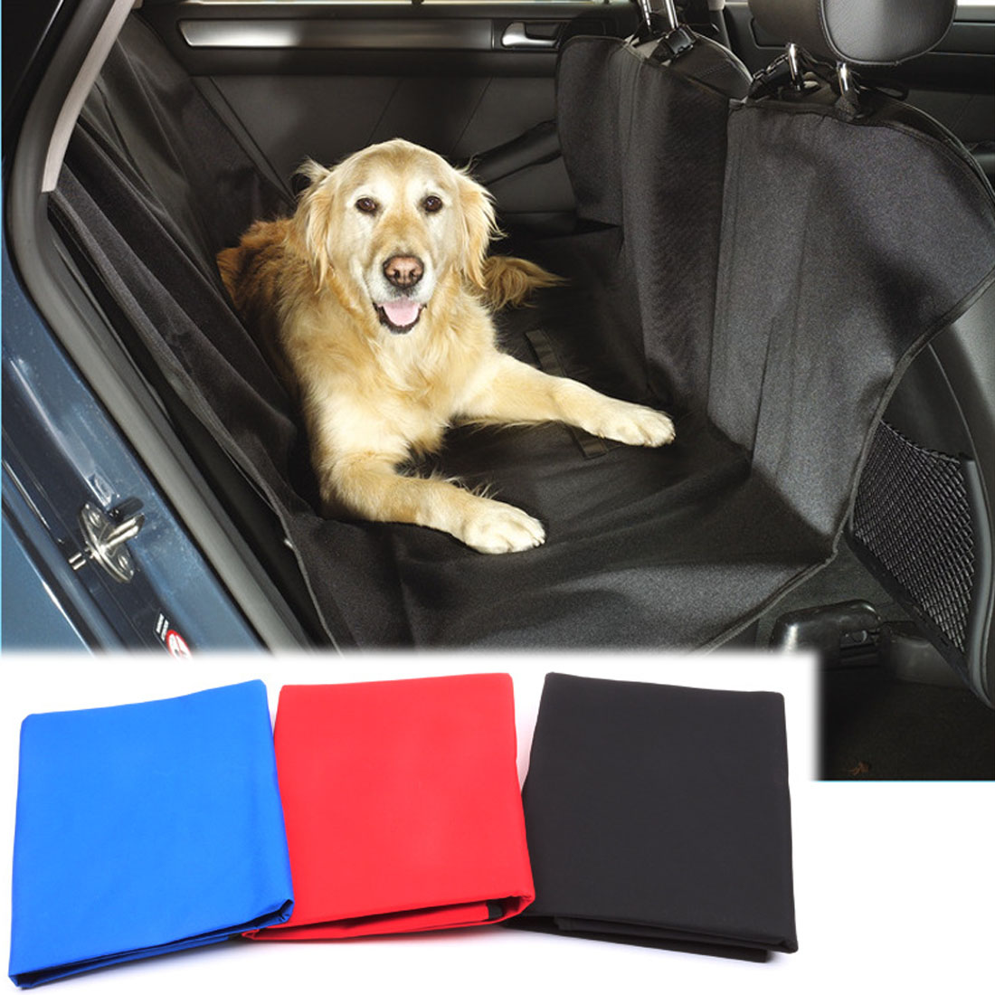 Dongzhen Auto Car Pet Seat Cover Rear Bench Seat