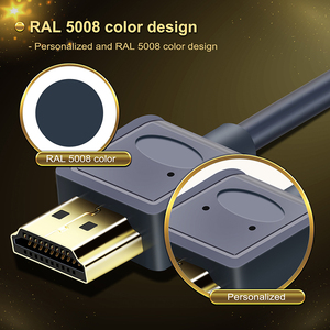 Image 2 - Mini Cable HDMI a HDMI 2,0, cable Micro HDMI 4K/60Hz M/M Premium HDMI de alta velocidad Mini HDMI 3D para HDTV PC Tablet PS4 XBox C126
