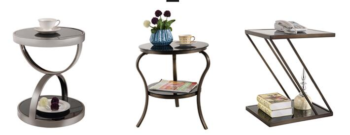 Black titanium stainless steel Angle of a few. Multilayer toughened glass desk small tea table. Moving round side tables amitabh baruah a brief overview of small tea cultivation