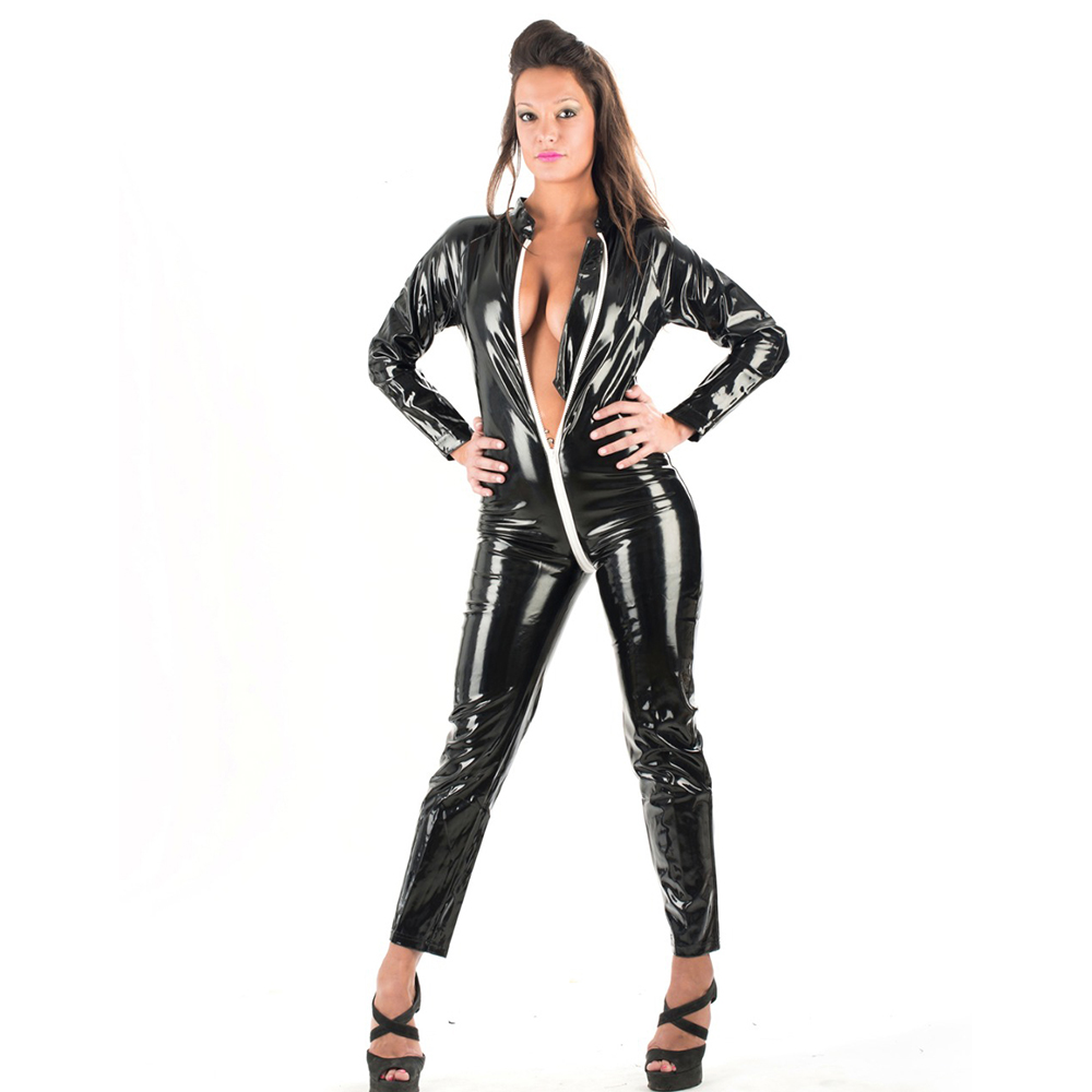 Popular Leather Jumpsuit-Buy Cheap Leather Jumpsuit Lots -6509