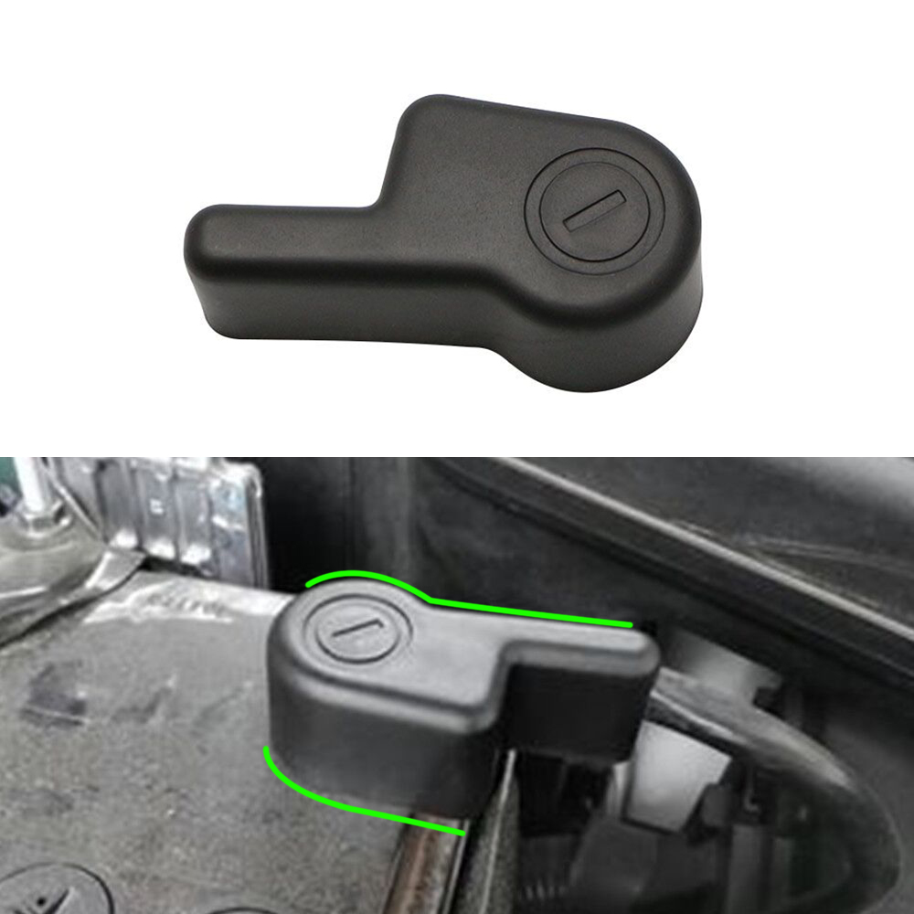 ABS Car Battery Negative Terminal Cover Fit for Mitsubishi Mirage G4 Attrage Space Star Outlander Lancer Power Batteries Covers
