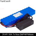 24V 10ah 7S4P батареи 250W 29 4 v 10000mAh аккумулятор 15A BMS для мотора стул набор электрическая мощность + 29 4 V 2A зарядное устройство