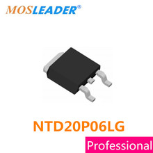 Mosleader NTD20P06LG TO252 100PCS 500PCS 1000PCS NTD20P06L NTD20P06 20P06 P Channel 60V 15.5A Made in China High quality