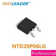 Mosleader ntd20p06lg to252 100 pces 500 pces 1000 pces ntd20p06l ntd20p06 20p06 p canal 60 v 15.5a feito na china de alta qualidade